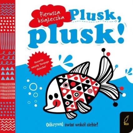 Pierwsza książeczka Plusk plusk! -    okładka