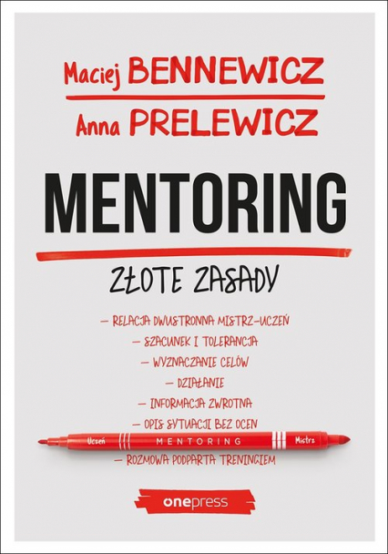 Mentoring Złote zasady - Bennewicz Maciej, Prelewicz Anna | okładka