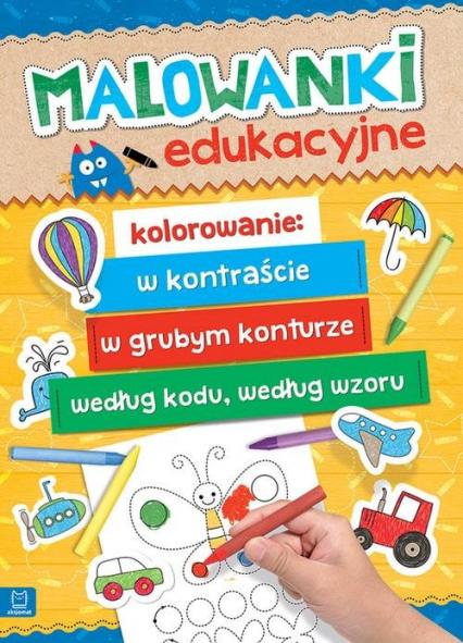 Malowanki edukacyjne -  | okładka