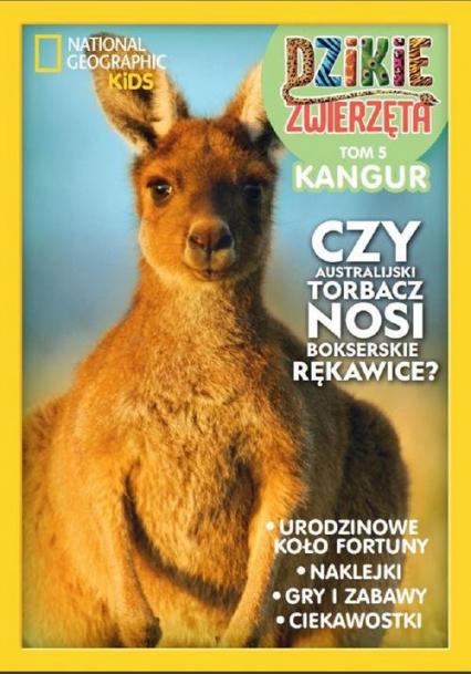 Dzikie Zwierzęta 5 Kangur -  | okładka