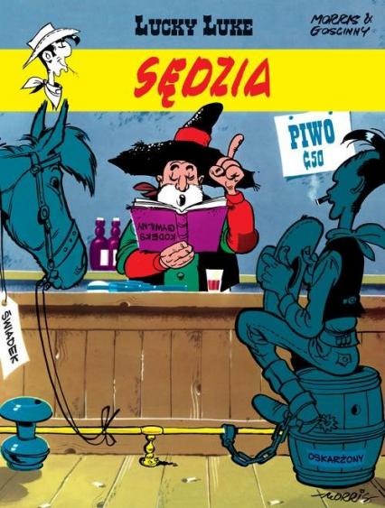 Lucky Luke Sędzia - René Goscinny | okładka