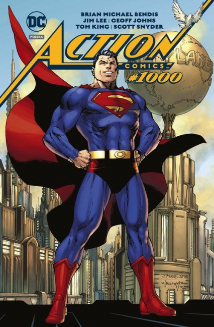 Superman Action Comics #1000 - Bendis Brian Michael, Johns Geoff, King Tom, Snyde Scott | okładka