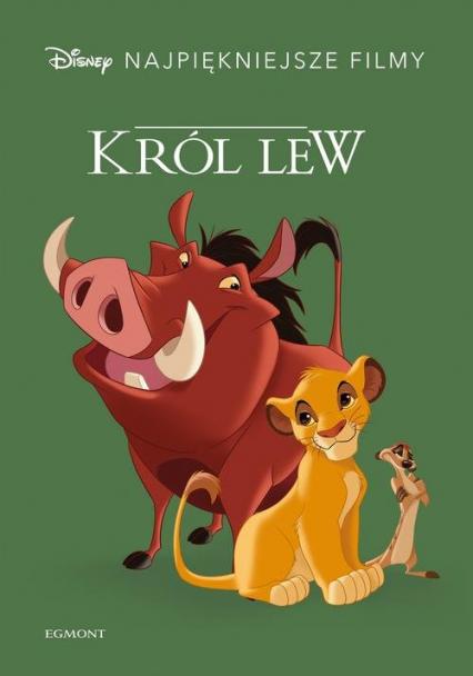 Król Lew Disney Najpiękniejsze filmy -  | okładka