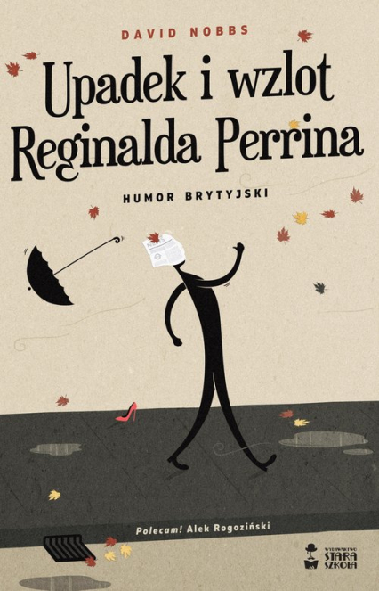 Upadek i wzlot Reginalda Perrina Humor brytyjski - David Nobbs | okładka
