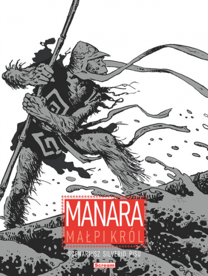 Małpi król - Manara Milo,  Pisu Silverio | okładka