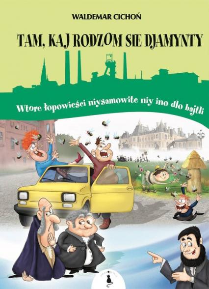 Tam kaj sie rodzom djamynty - Waldemar Cichoń | okładka