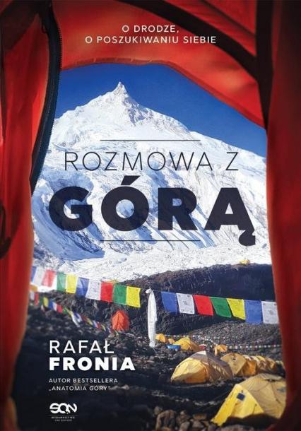 Rozmowa z Górą - Rafał Fronia   okładka
