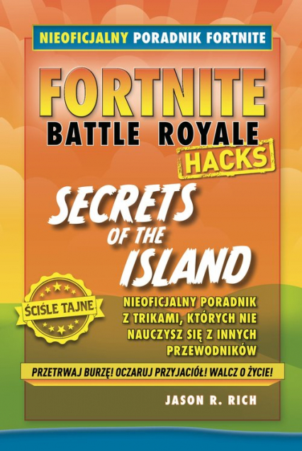 Fortnite Secrets of the Island - Rich Jason R. | okładka