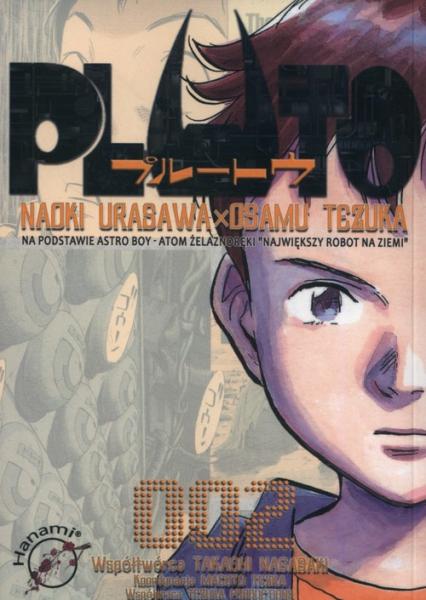 PLUTO 2 - Tezuka Osamu, Urasawa Naoki | okładka