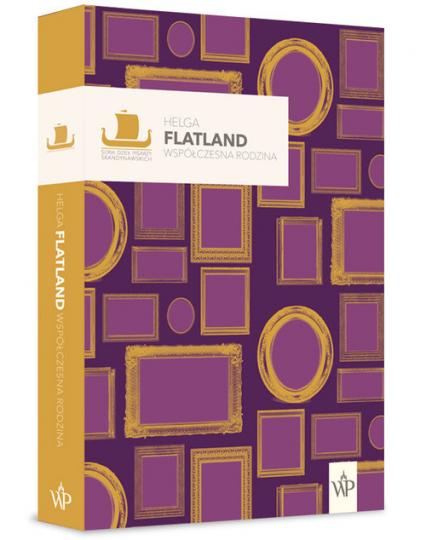 Współczesna rodzina - Helga Flatland   okładka