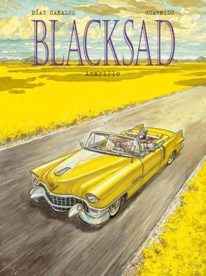 Blacksad Amarillo Tom 5 -  | okładka