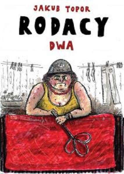 Rodacy dwa - Jakub Topor   okładka