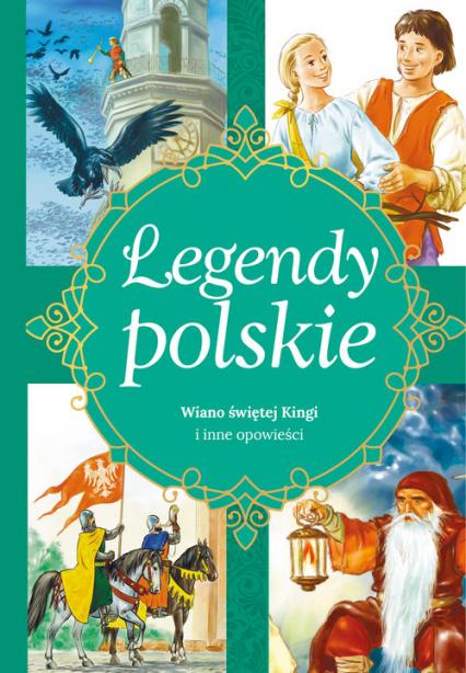 Legendy polskie Dlaczego Bałtyk jest słony i inne opowiadania - Ewa Stadtmüller | okładka