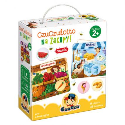 CzuCzulotto Na zakupy! -    okładka