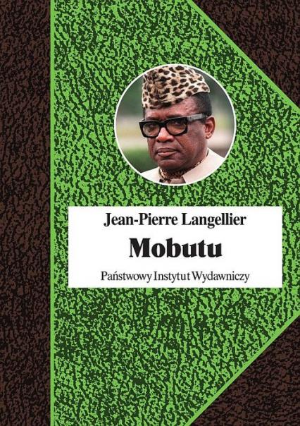 Mobutu - Jean-Pierre Langellier | okładka