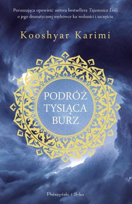 Podróż tysiąca burz - Kooshyar Karimi | okładka