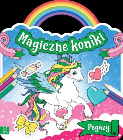 Magiczne koniki Pegazy -  | okładka