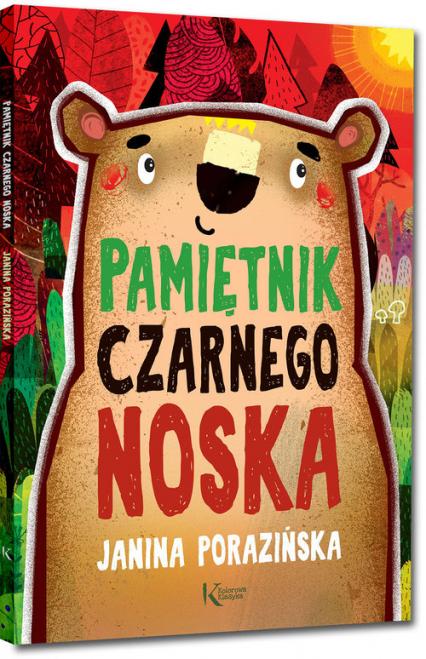 Pamiętnik Czarnego Noska - Janina Porazińska | okładka