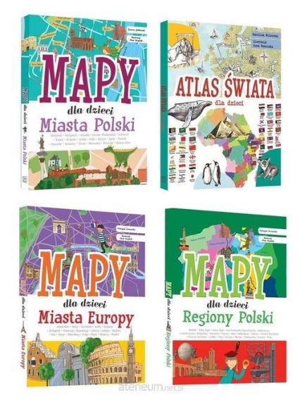 Mapy dla dzieci Pakiet -  | okładka