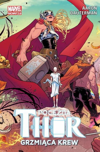 Potężna Thor Tom 1 Grzmiąca krew - Jason Aaron | okładka