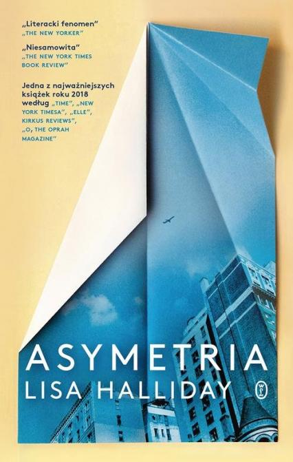 Asymetria - Lisa Halliday | okładka