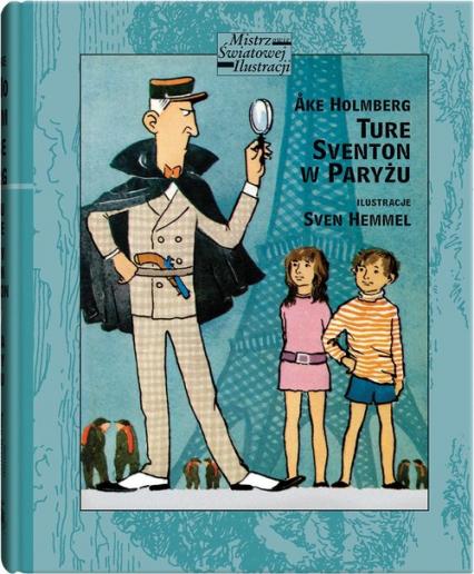 Ture Sventon w Paryżu - Ake Holmberg   okładka