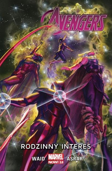 Avengers Tom 2 Rodzinny interes - Mark Waid | okładka
