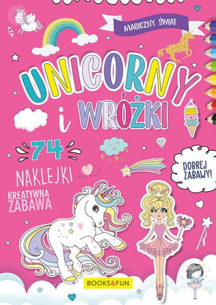 Magiczny Świat Unicorny i Wróżki  74 naklejki -  | okładka