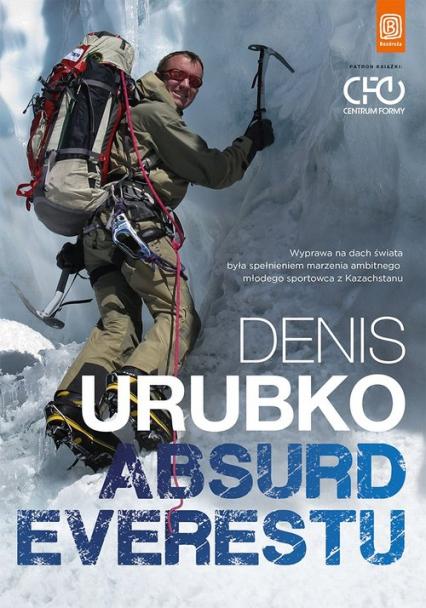 Absurd Everestu - Denis Urubko | okładka