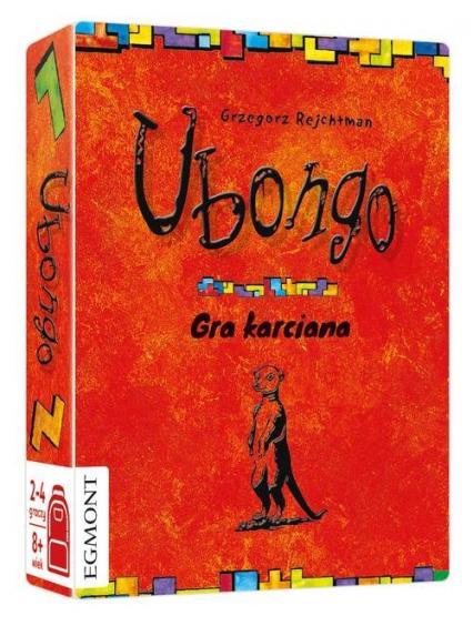 Ubongo gra karciana -  | okładka
