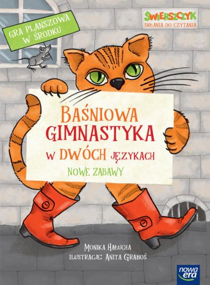 Baśniowa gimnastyka w dwóch językach. Nowe zabawy - Monika Hałucha | okładka
