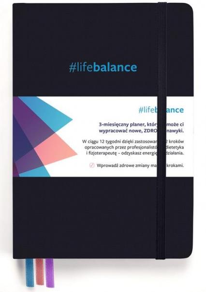 Planner #lifebalance 12 tygodni do zdrowego stylu życia - Podgórska Ludmiła, Waszkiewicz Marta | okładka