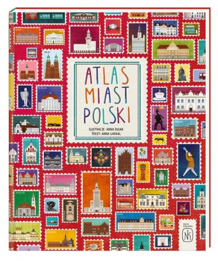 Atlas miast Polski - Garbal Anna, Rudak Anna | okładka
