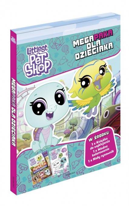 Littlest Pet Shop Megapaka dla dzieciaka - zbiorowe opracowanie | okładka