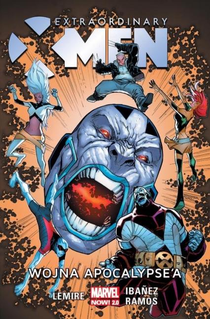 Extraordinary X-Men Tom 2 Wojna Apocalypse'a - Jeff Lemire | okładka