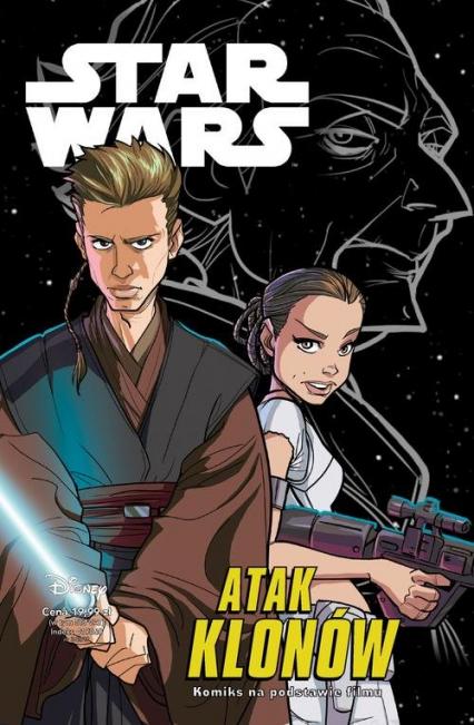 Star Wars Atak klonów / komiks / - Chimisso Igor, Römling Ingo | okładka