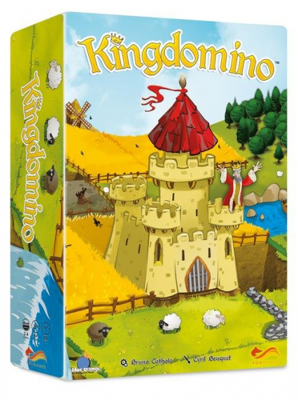 Kingdomino - Bruno Cathala | okładka