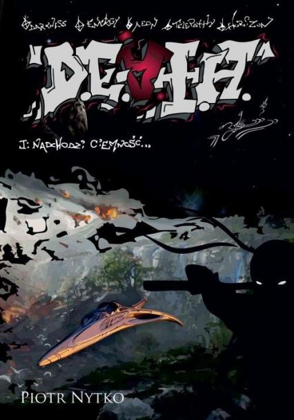 D.E.A.T.H. Tom 1 Nadchodzi ciemność - Piotr Nytko | okładka