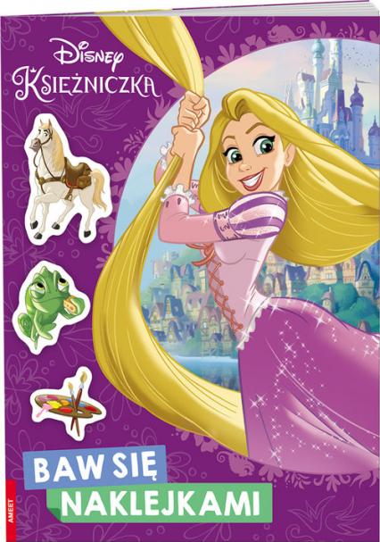 Disney Księżniczka Baw się Naklejkami -  | okładka