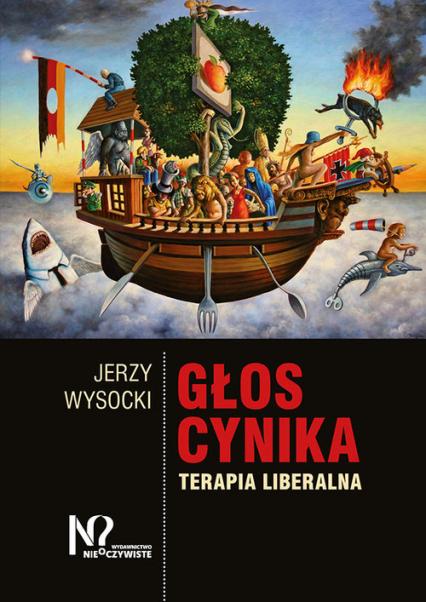 Głos cynika Terapia liberalna - Jerzy Wysocki | okładka