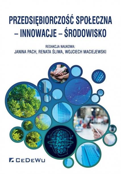 Przedsiębiorczość społeczna innowacje środowisko -  | okładka