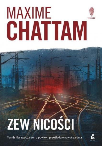 Zew nicości - Maxime Chattam | okładka