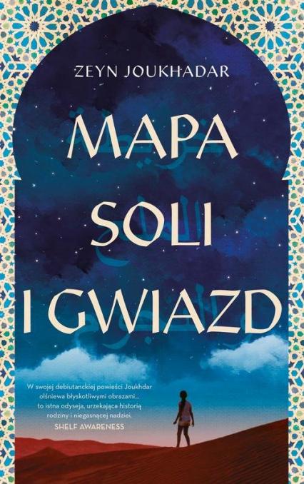 Mapa soli i gwiazd - Zeyn Joukhadar | okładka