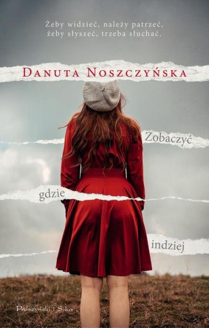 Zobaczyć gdzie indziej - Danuta Noszczyńska | okładka