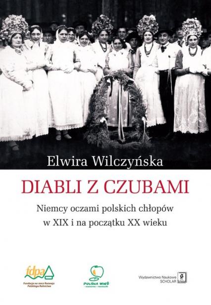 Diabli z czubami Niemcy oczami polskich chłopów w XIX i na początku XX wieku - Elwira Wilczyńska | okładka