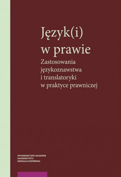 Język(i) w prawie -  | okładka