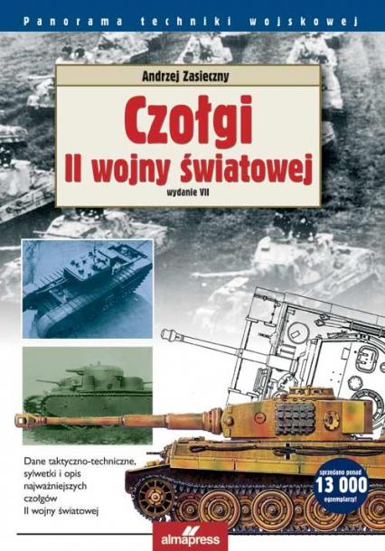 Czołgi II wojny światowej - Andrzej Zasieczny   okładka