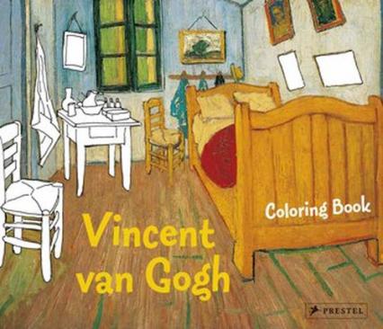 Coloring Book Vincent van Gogh - Annette Roeder | okładka
