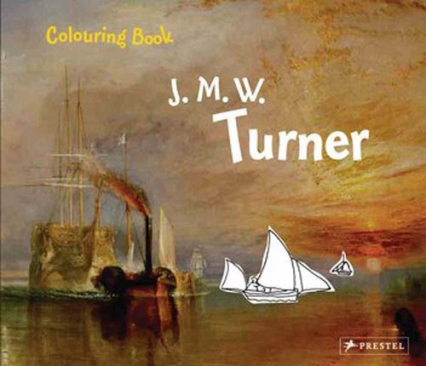 Coloring Book: J. M. W. Turner - Annette Roeder | okładka