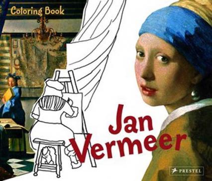 Coloring Book Jan Vermeer - Andrea Weissenbach | okładka